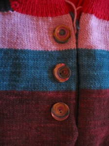 Buttons for Color Block Vest