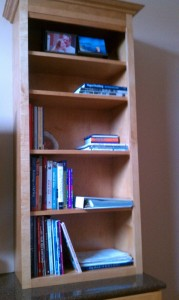New Bookcase in My Office